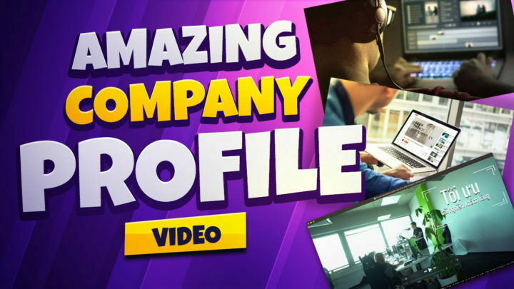 You Will Get Create Amazing Company Profile And Corporate Videos